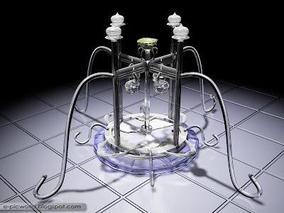 3D Glass sculptures 1