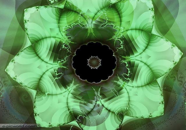 fractals wallpaper - floweristic