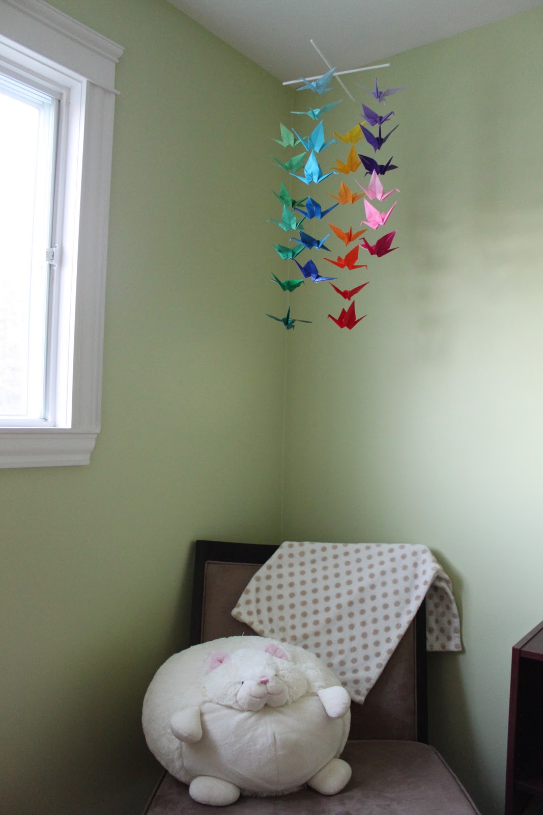 sweet and lovely crafts: origami crane mobile - photo#22