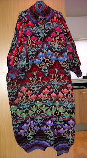 Kaffe Fassett Chinese Rose Coat