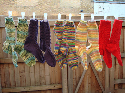 Socks, socks and more socks