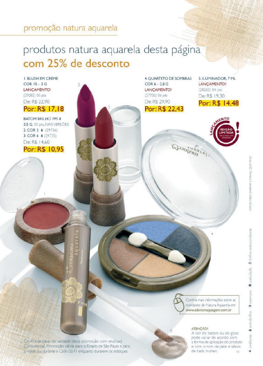 Promoções Natura Ciclo 02/2011
