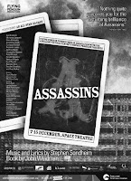 assassins... do you think i could find a colour version of the poster? no, i could not!