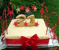 twenty first cake