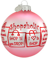 shopaholic bauble