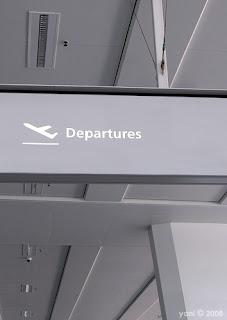 leavin' on a jet plane...