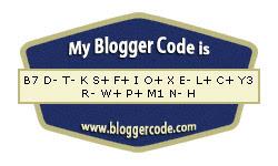 my blogger code