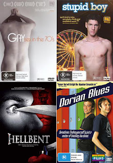 gay sex, stupid boy, hellbent and dorian blues