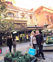 shopping in rundle mall