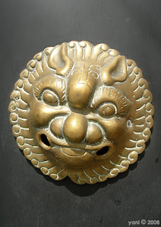 asian brass detail