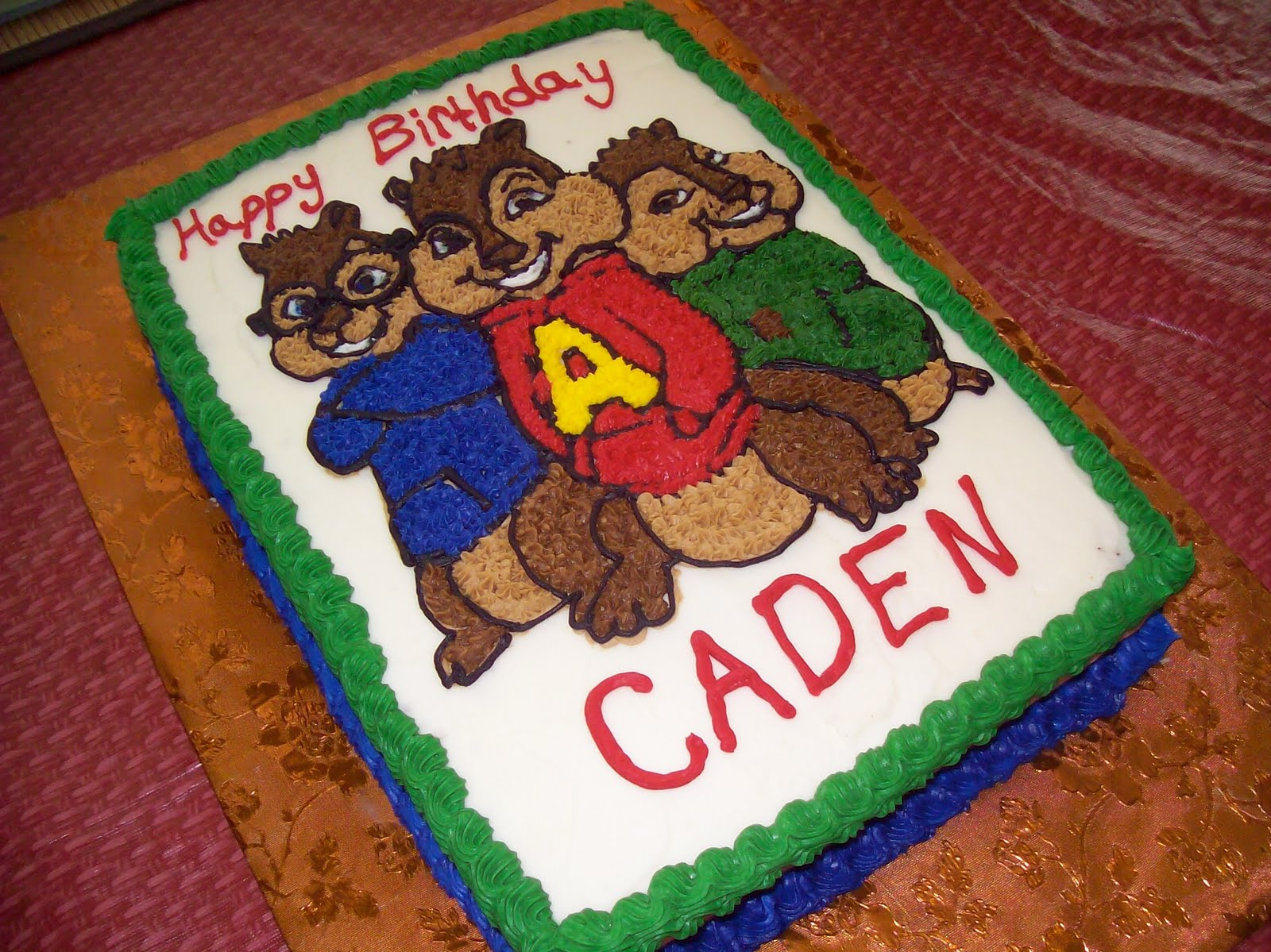 Alvin And The Chipmunks Birthday Cake: Cakes By Mel