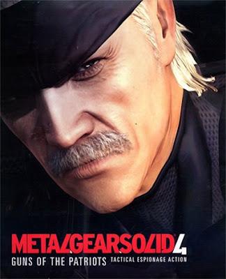 Detonado Exclusivo: Metal Gear Solid 4: Guns of the Patriots Metal-gear-solid-4-portada