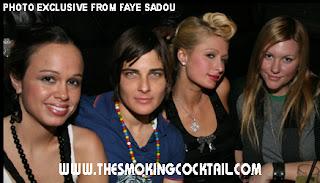 Paris Hilton lesbian Kate Moennig