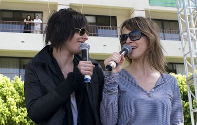 leisha hailey kate moening dinah shore 2008