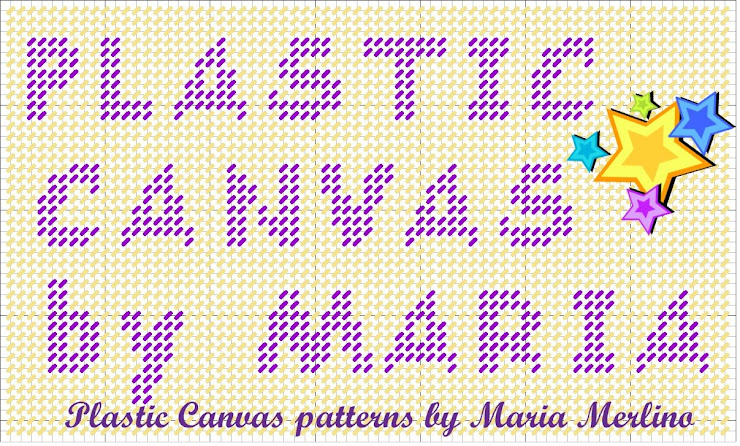 Plastic Canvas by Maria Merlino