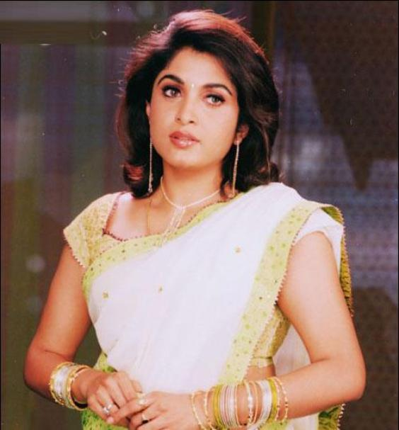 Ramya Krishna In Wet Saree