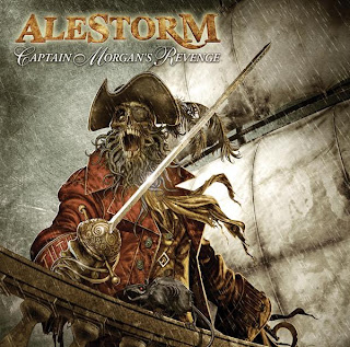 Alestorm-Captain Morgan´s Revenge (2008) Cover