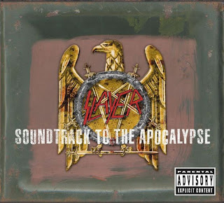 Slayer- Soundtrack to the Apocalypse (4CD´s) Cover