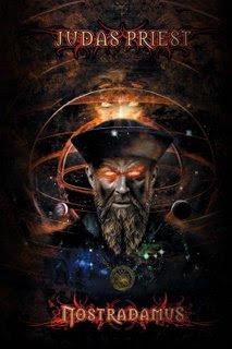 Judas Priest-Nostradamus Single (2008) Cover