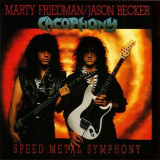 Cacophony-Speed Metal Symphony(1987) Cover