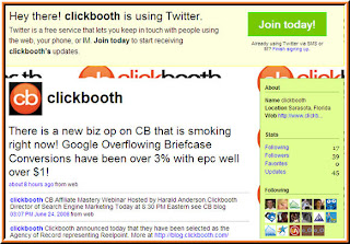 Click Booth Twitter