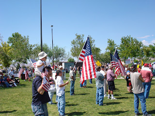 From the July 3rd Las Vegas TEA Party