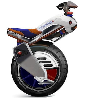 Ryno - working prototype single-wheel motorcycle (video ...