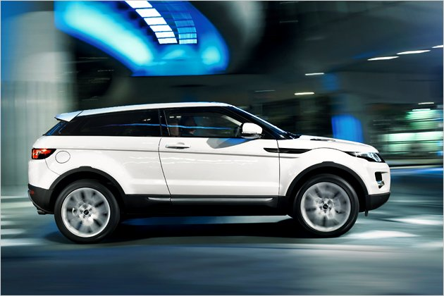 Looks Like A Car Range Rover Evoque New Pictures And