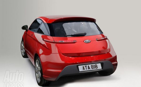 Looks Like A Car The New Future Ford Ka Will Appear In 2014