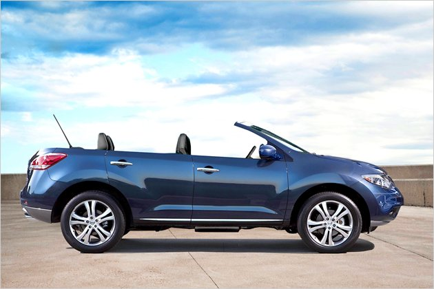 nissan murano cross cabriolet nissan shows open suv garage car. Black Bedroom Furniture Sets. Home Design Ideas