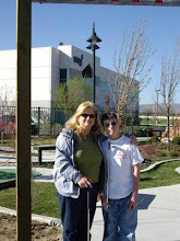 Dana Blum and her son, Brendan