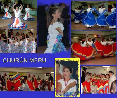 de danzas tradicionales se identifican en las diferentes partes de ...