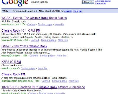 Classic Rock FM: Missing a Radio Station