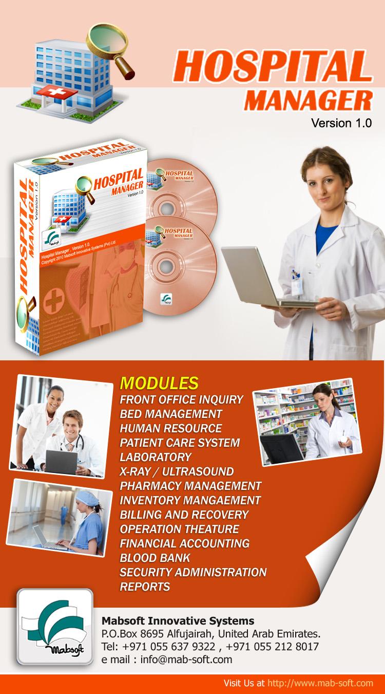management hospital system information kamran portfolio