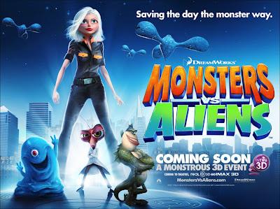 Dreamworks - Monsters vs Aliens
