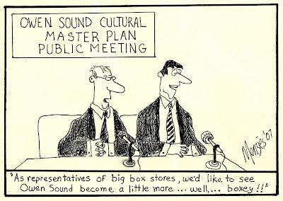 Editorial Cartoons from Owen Sound: December 2007
