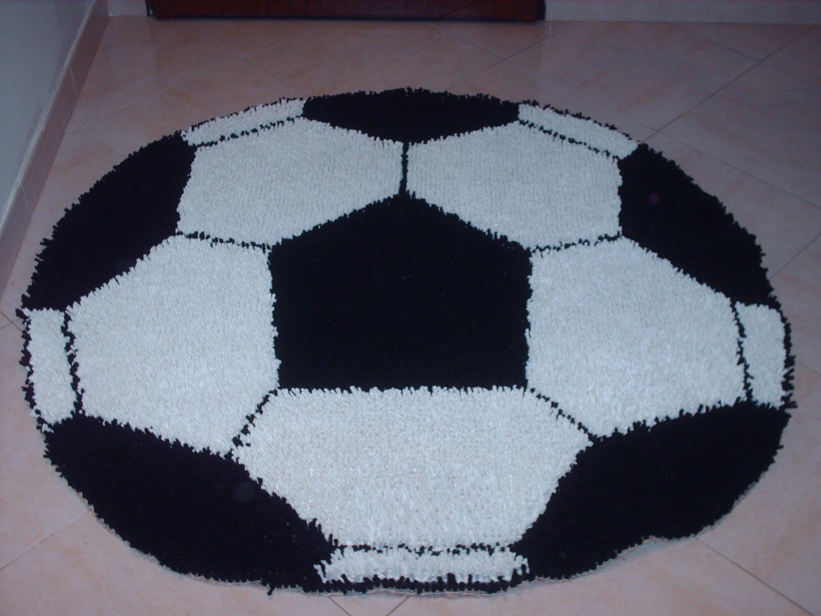 a55ef14cb os meus tapetes  bola de futebol