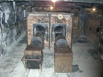 Crematorio del campo de concentración de Auschwitz