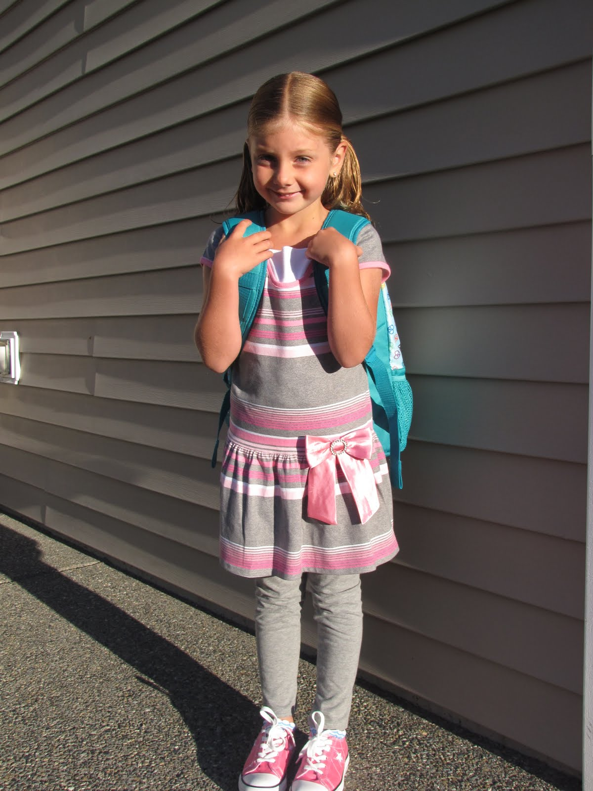 The Elwell Family Blog First Day Of School