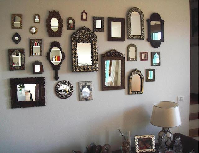 Riflessioni di una parete - Specchi particolari da parete ...