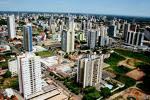 vista aérea de Cuiabá