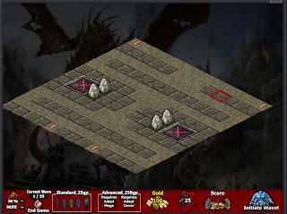 SandBlog: UO:Defender Editor Map1 (13*13)