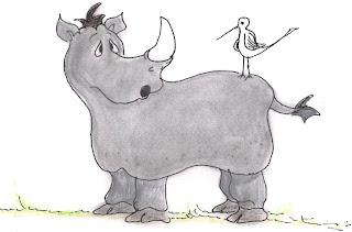 rhinoceros and tickbird relationship