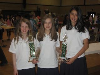 Diocesan Science Fair 2008 1st Place Team Finish