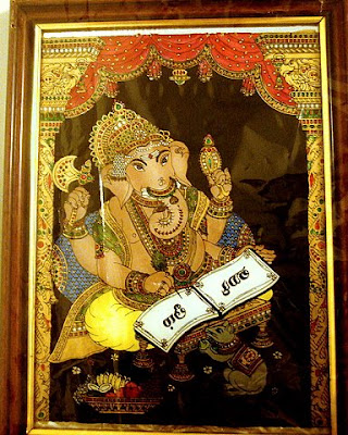 Glass Painting Images on Tanjore Glass Paintings