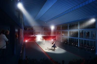 Perspective 3D du concours lauréat