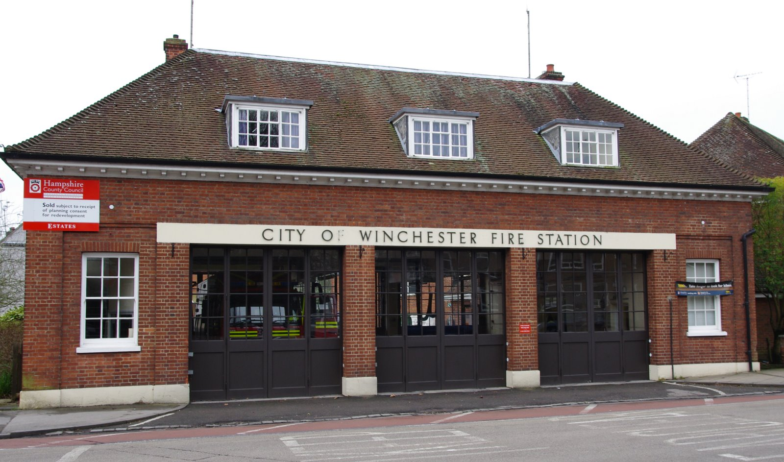 Daily Photos From Winchester F Is For Fire Station