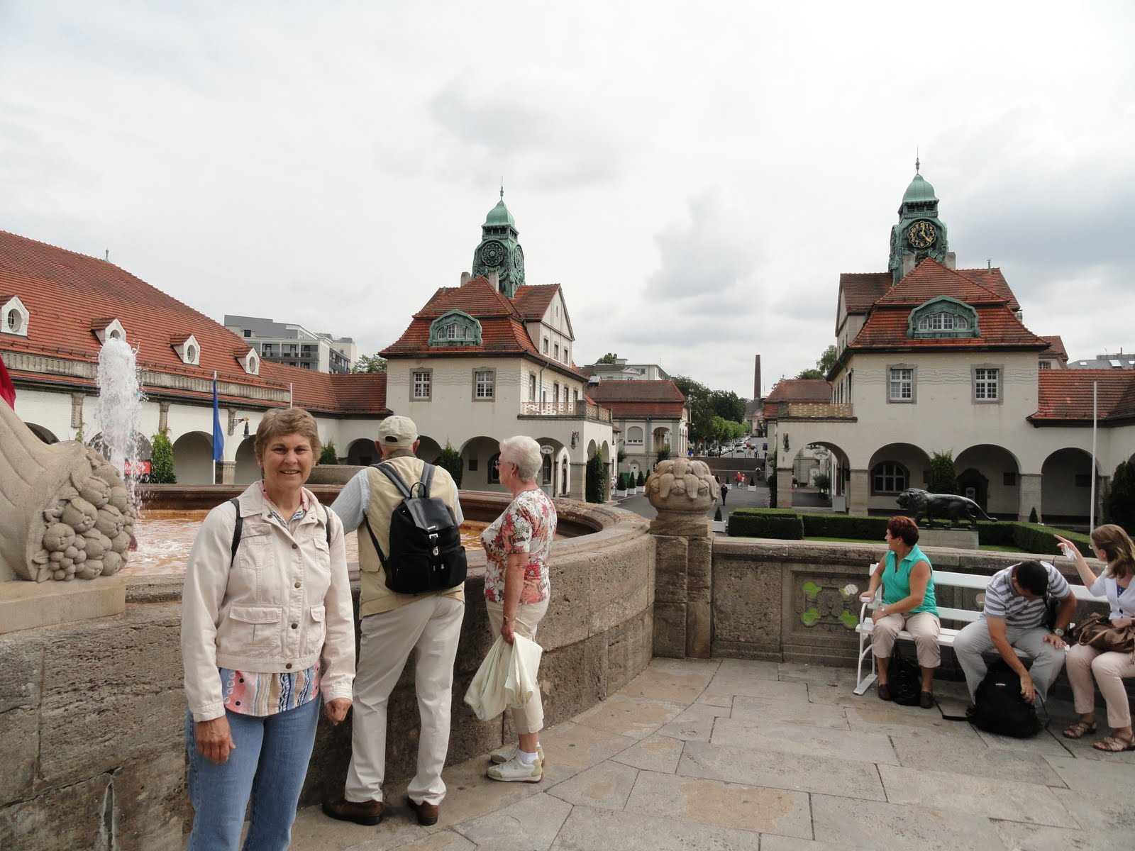 Flohrs in Frankfurt: Bad Nauheim - Elvis and Health Spas