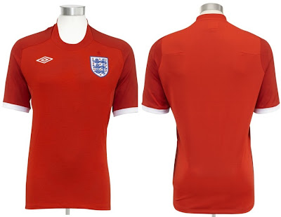 555a61f31 Umbro and the English FA have officially launched the England Umbro 2010/12  away kit. As expected, the shirt features are very similar to those of the  ...