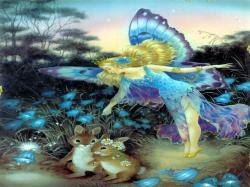 Lovely Fairy Day greetings, Fairy ecards